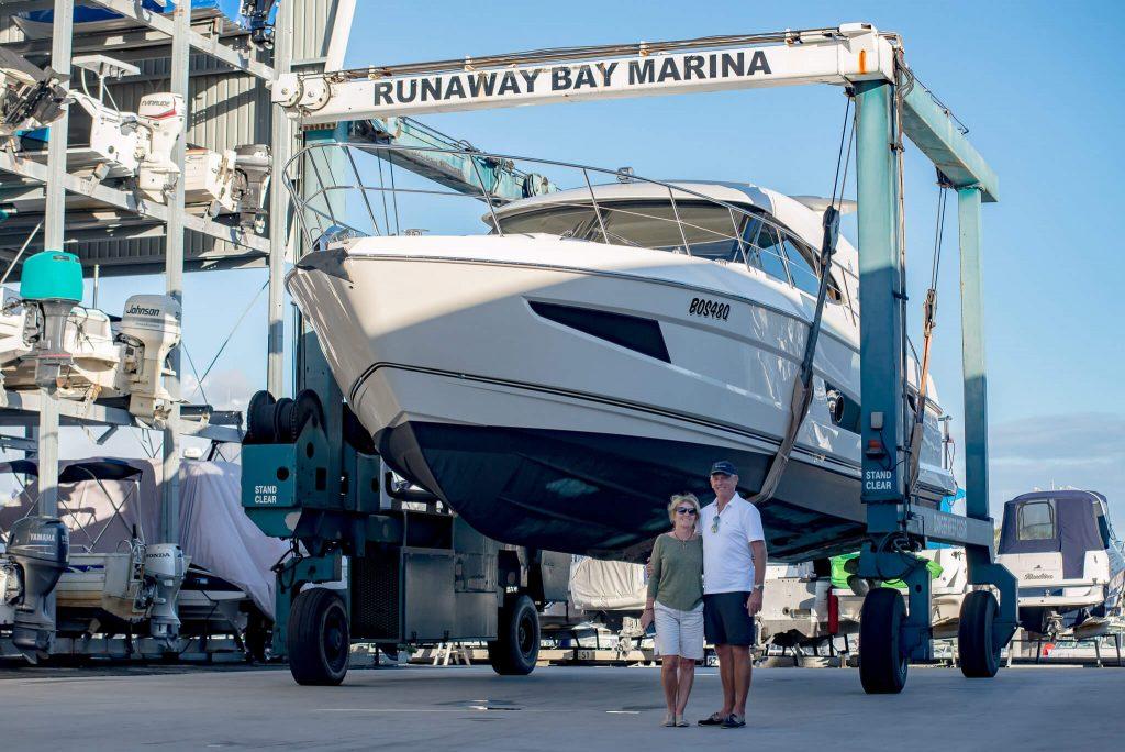 Runaway Bay Marina Riviera Boat